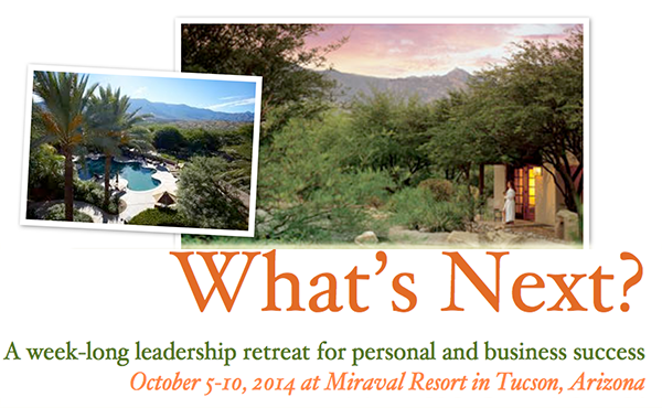 Miraval Leadership Retreat