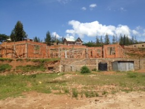 School we are helping to build in Rwanda