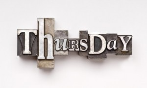 Blog Post Thursday