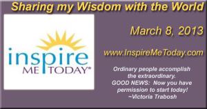 Inspire Me Today Luminary